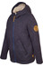 Elkline Spielzimmer Fleece Jacket Junior blueshadow - offwhite